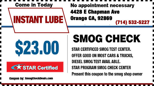Tustin Auto Center >> $23.00 Smog Check Orange, Cheapest Smog Near me, (714) 532-5227